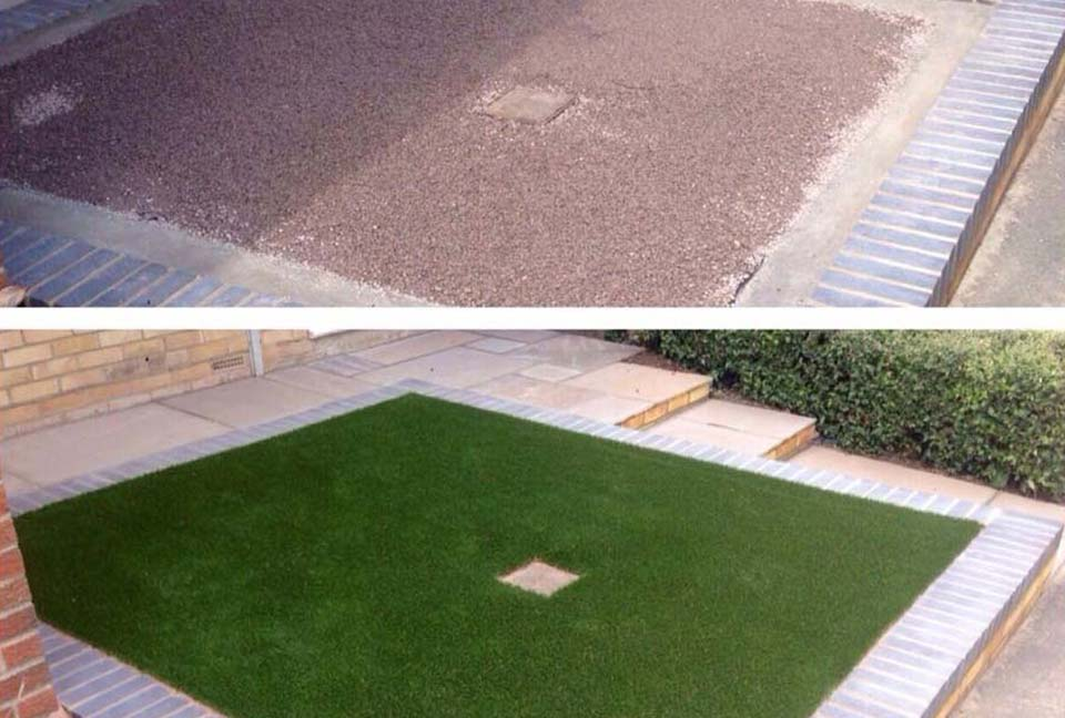 artificial-lawn-before-after Projects